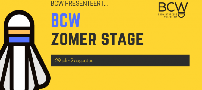 BCW Zomer Stage